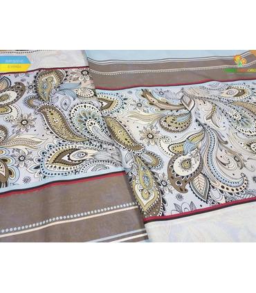 Комплект постельного белья - Перышки 6828 ᐉ Микросатин, цена ※ Украины