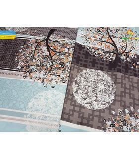 Комплект постільної білизни Ітон ᗍ сатин ※ Україна, натуральна тканина