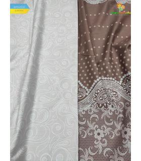 Комплект постільної білизни Вівальді ᗍ сатин ※ Україна, натуральна тканина