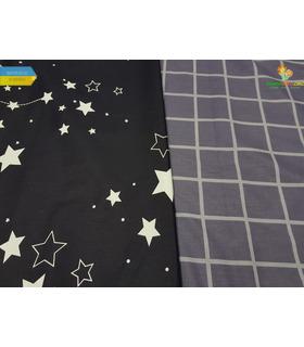 Комплект постельного белья Северное сияние ᗍ сатин ※ Украина, натуральная ткань