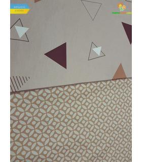Комплект постільної білизни Тріо ᗍ сатин ※ Україна, натуральна тканина