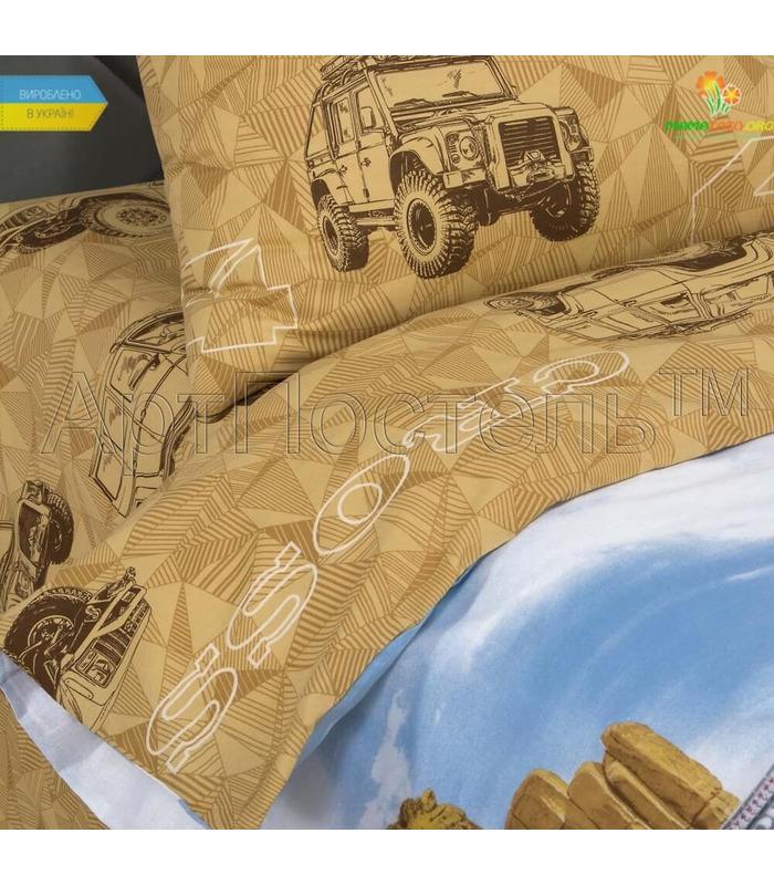 """Комплект дитячої постільної білизни """"Каньйон"""" ᐉ Поплін, вироблено в Україніньйон"""" Поплін"""