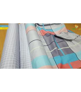 Комплект постільної білизни Ріккі ᗍ сатин ※ Україна, натуральна тканина
