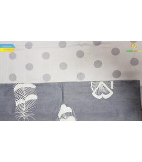 Комплект постільної білизни Контур ᗍ сатин ※ Україна, натуральна тканина