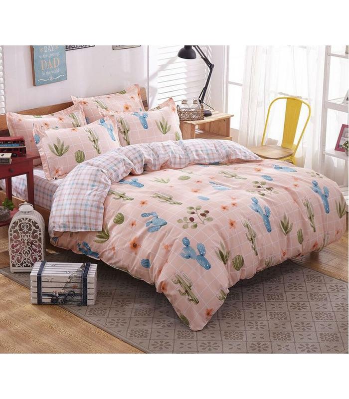 Комплект постельного белья Аскания ᗍ сатин ※ Украина, натуральная ткань