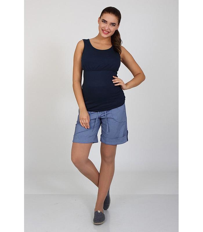 ᐉ Шорти для вагітних Трессі 17, високий трикотажний пояс, регулюється.