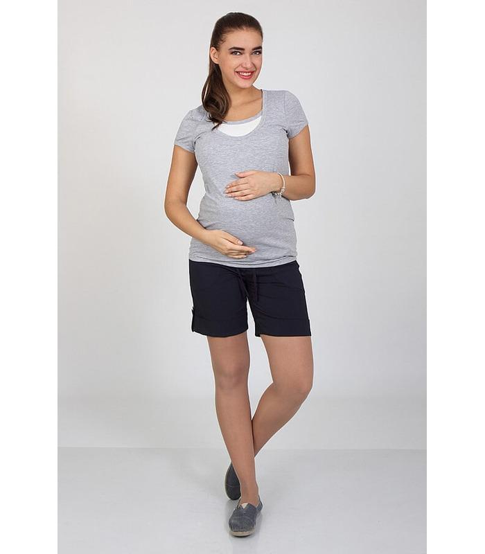 ᐉ Шорты для беременных Тресси 17, высокий трикотажный пояс, купить.