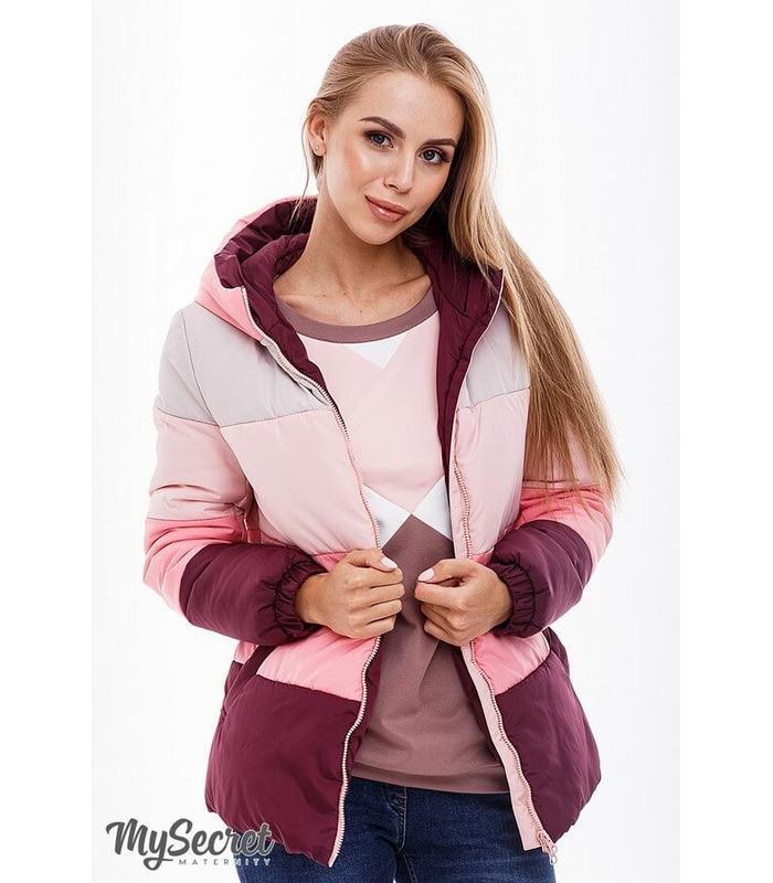 Куртка Сіа BR ᐈ демісезонна куртка вагітним зі вставкою на животик