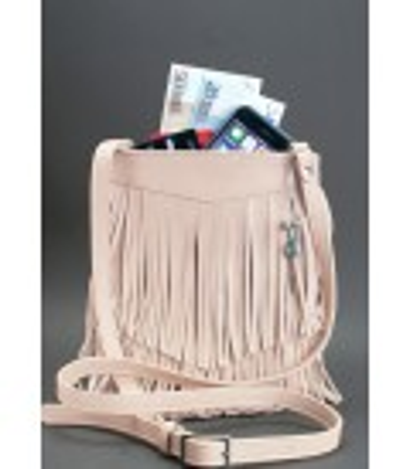 Жіноча сумка міні-кроссбоді Fleco RS ᐉ натуральна шкіра, Українаміні-кроссбоді Fleco RS
