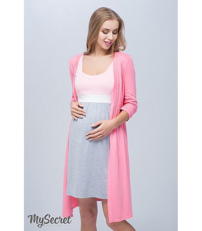 Халат для вагітних та годуючих Сінті RO