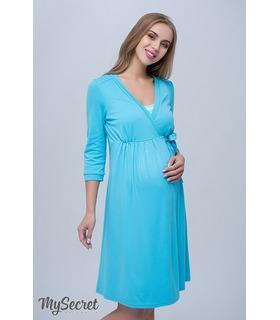 Халат для вагітних та годуючих Сінті BL