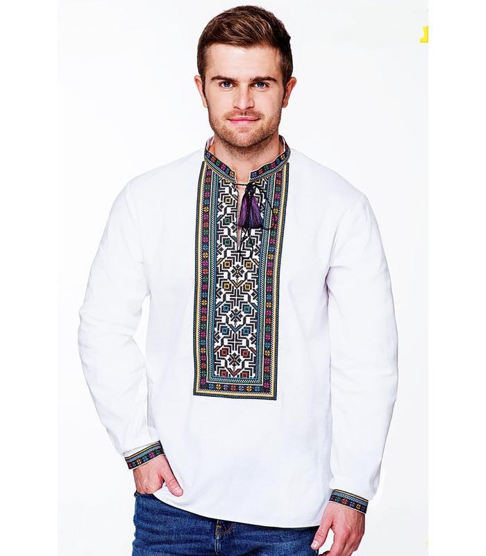 Мужская вышиванка (мод.787).
