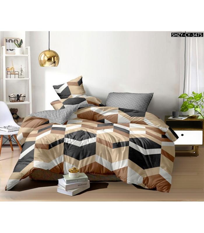 Комплект постельного белья Shercher ᗍ сатин ※ Украина, натуральная ткань