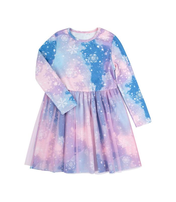 Детское платье Зимнее Чудо ПЛ285