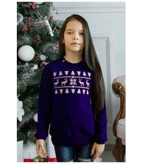 Свитшот для девочки Чудо мод.238