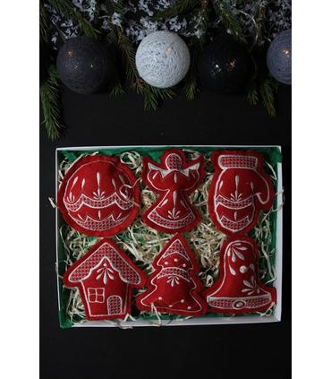 Набор елочных игрушек Рождественский BR