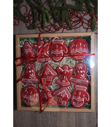 Набір ялинкових іграшок Різдвяний великий BR