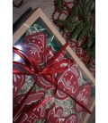 Набор елочных игрушек Рождественский большой BR