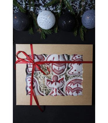 Набор елочных игрушек Рождественский MI