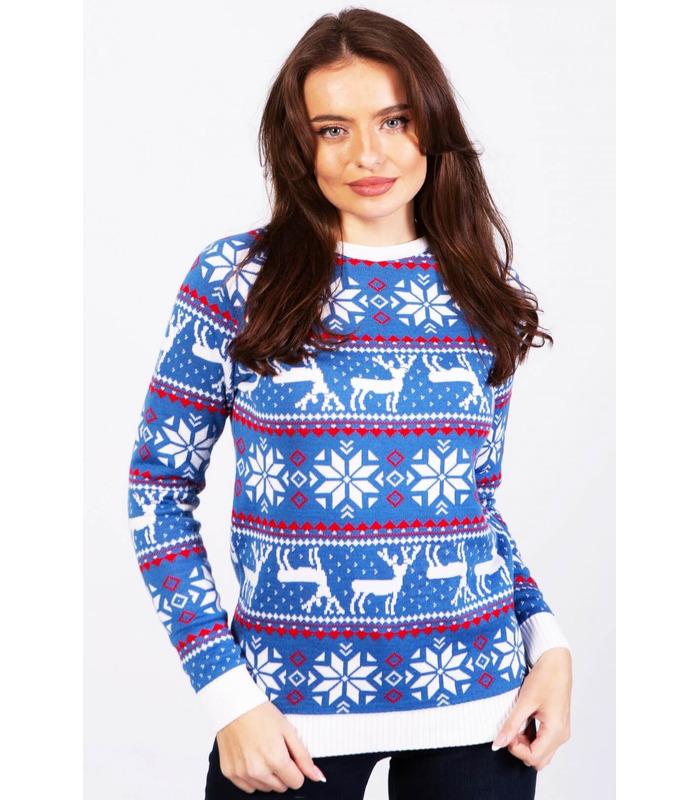 Женский свитер Рождественский (мод.47)