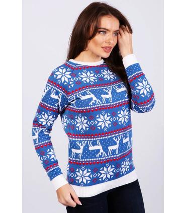 Жіночий светр Різдвяний (мод.47)