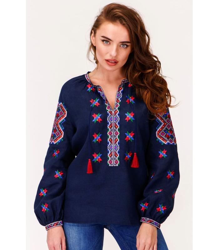 Женская вышиванка мод.7401