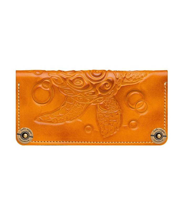 Купить кошелек Turtle OR от украинского производителя из натуральной кожи