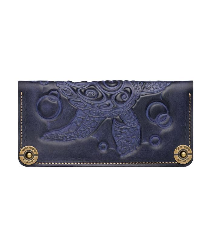 Купити гаманець Turtle BU від українського виробника з натуральної шкіри
