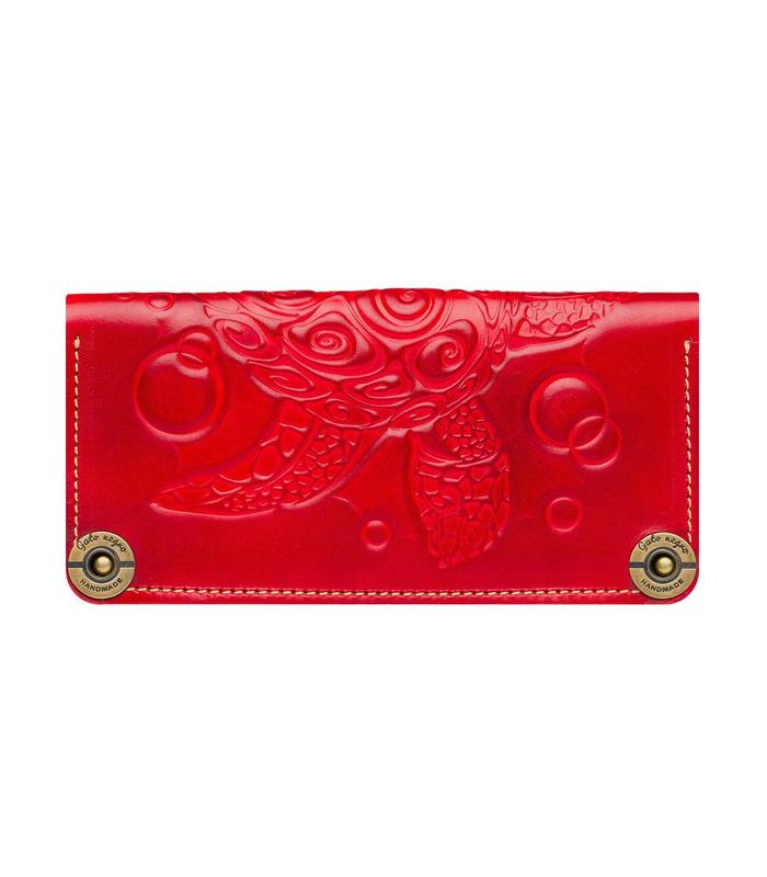 Купити гаманець Turtle RD від українського виробника з натуральної шкіри
