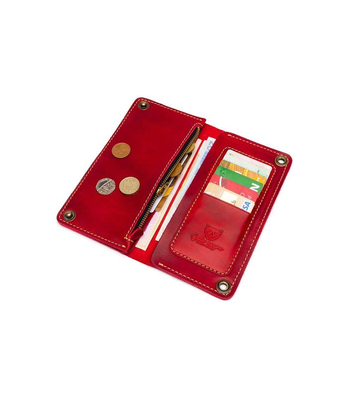 Купить кошелек Turtle RD от украинского производителя из натуральной кожиurtle RD