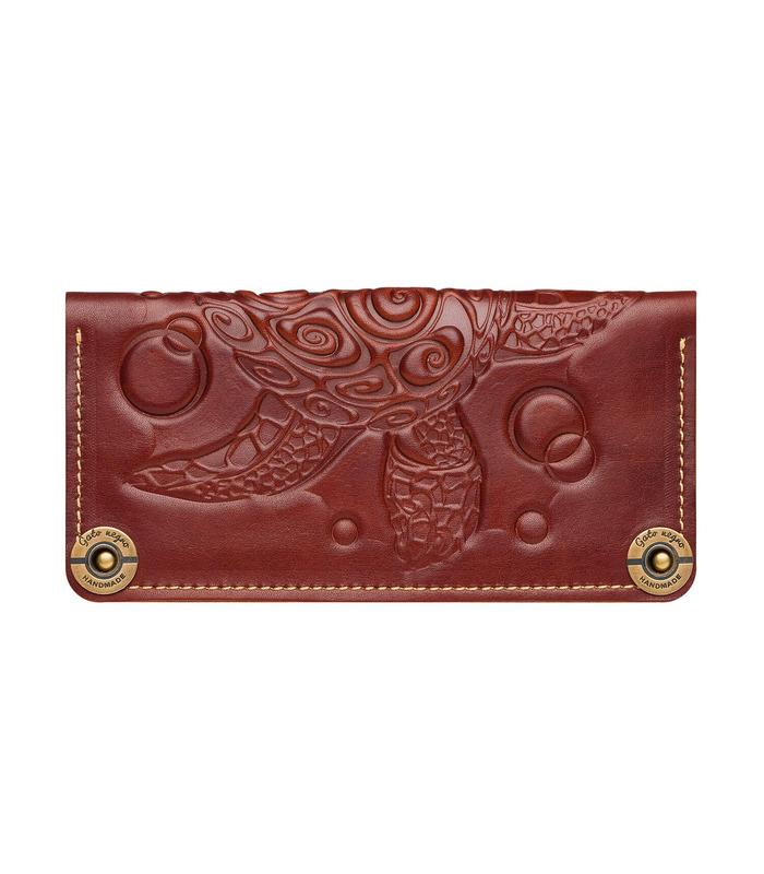Купити гаманець Turtle BR від українського виробника з натуральної шкіри