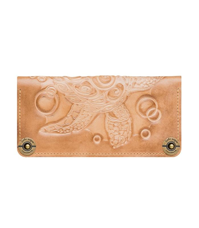 Купить кошелек Turtle IV от украинского производителя из натуральной кожи
