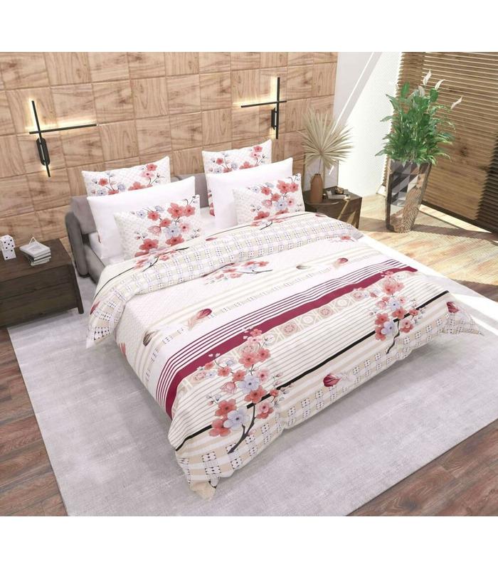 Комплект постельного белья Веточка ᗍ бязь, Украина, натуральная ткань