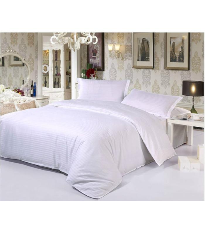 Комплект постельного белья White ᗍ бязь, Украина, натуральная ткань
