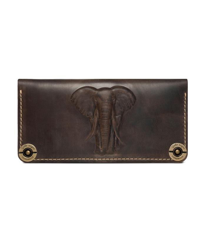 Купити Гаманець Gato Negro Elephant KH | Українське виробництво, натуральна шкіра