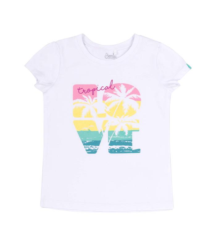 Дитяча футболка ФБ718 WH
