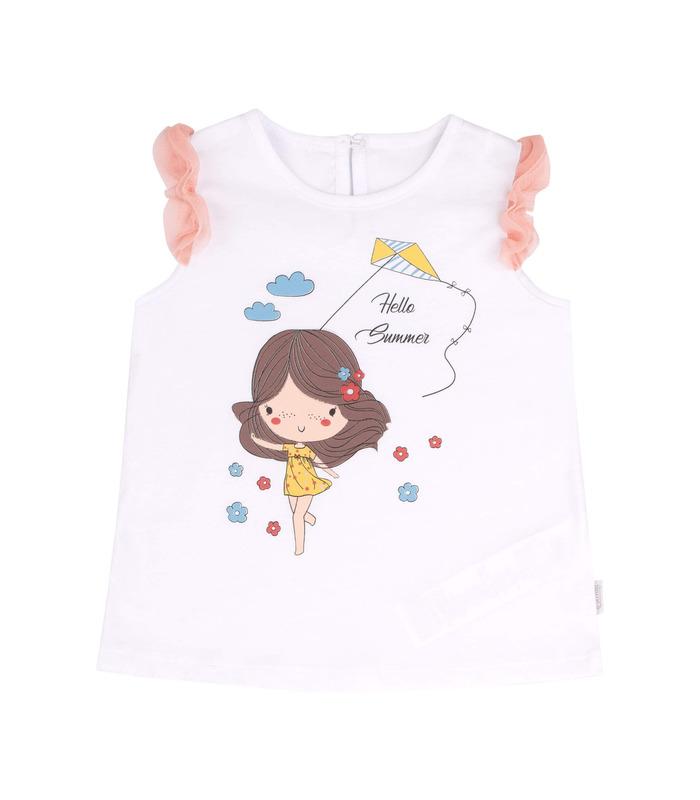 Детская футболка ФБ722 WH