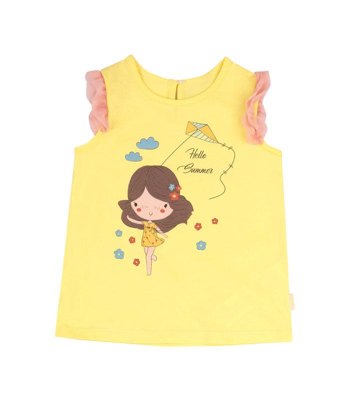 Детская футболка ФБ722 YE