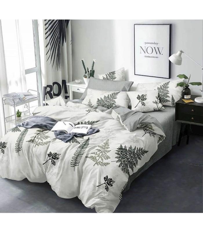Комплект постільної білизни Dried flowers ᗍ бязь, Україна, натуральна тканина
