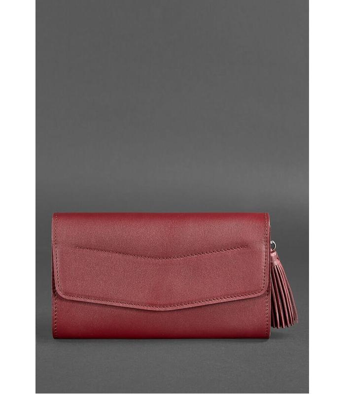 Жіноча шкіряна сумка Еліс BR-KR ᐉ ціна виробника, Україна, ручна робота