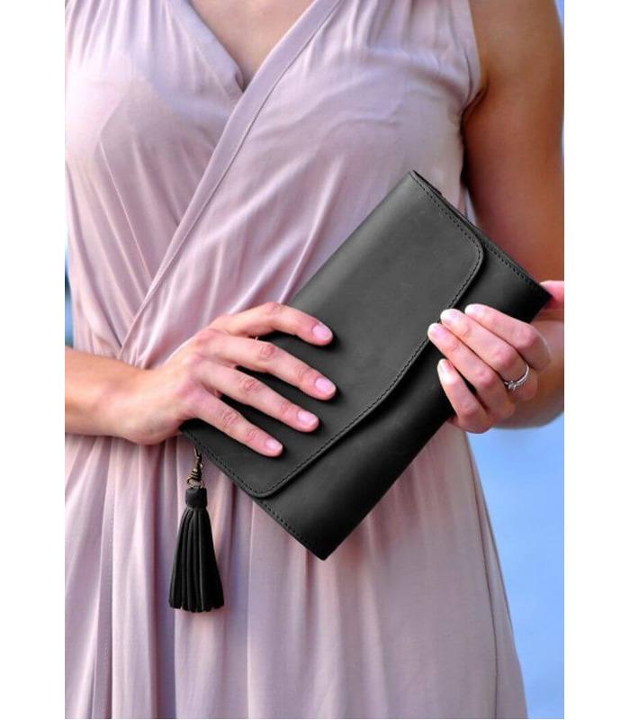 Жіноча шкіряна сумка Еліс BC ᐉ ціна виробника, Україна, ручна робота