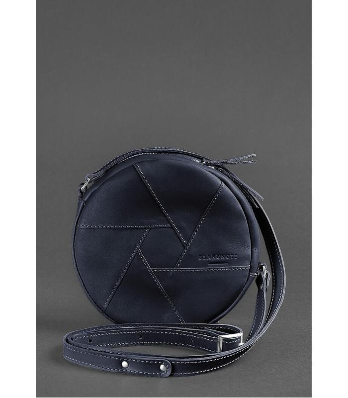 Жіноча шкіряна сумка Бон-бон DBL ᐉ Натуральна шкіра, виробник - Україна