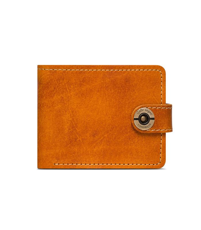 Купити шкіряний чоловічий гаманець GN Classic+ RN   Українське виробництво, натуральна шкіра