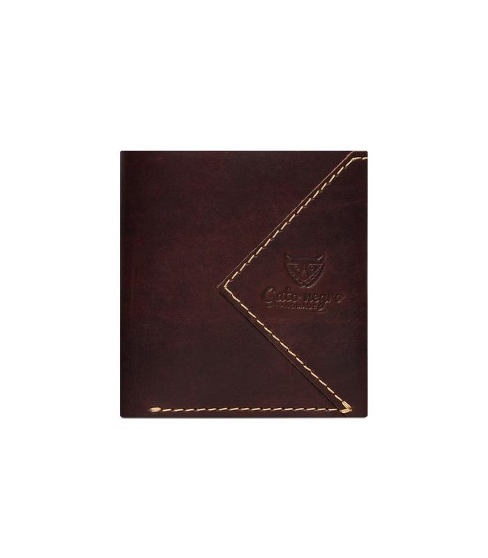 Купить кожаный кошелек GN Compact BR | Украинское производство, натуральная кожа