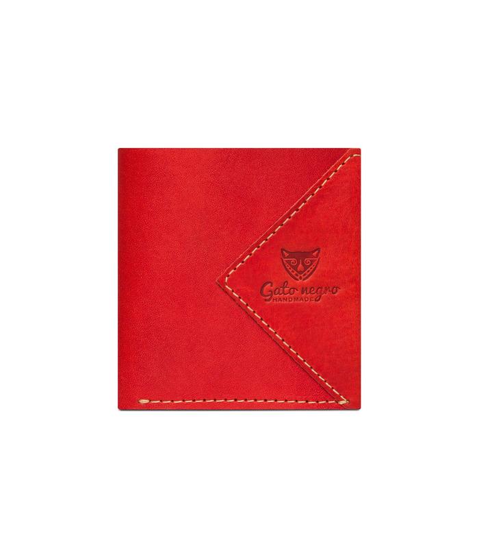 Купити шкіряний гаманець GN Compact RD | Українське виробництво, натуральна шкіра