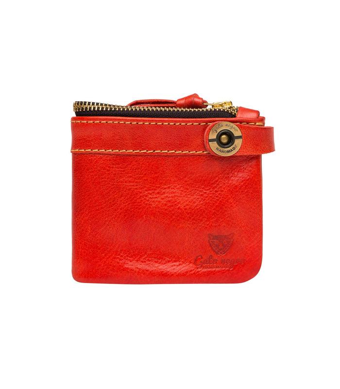 Купити шкіряний гаманець GN Espacio RD | Українське виробництво, натуральна шкіра