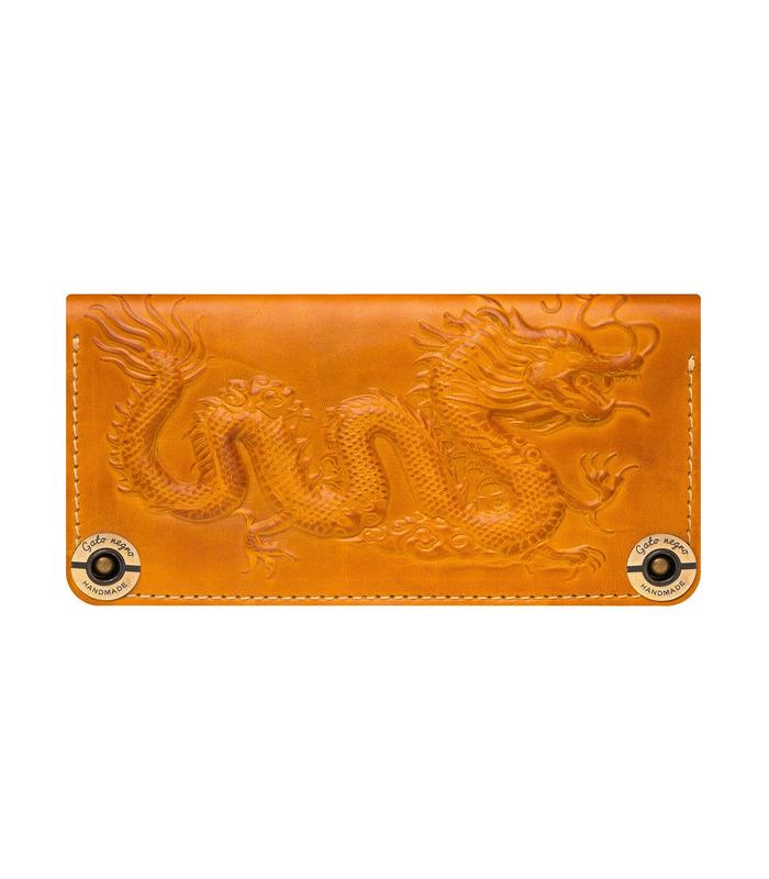 Купити шкіряний портмоне GN Dragon OR | Українське виробництво, натуральна шкіра