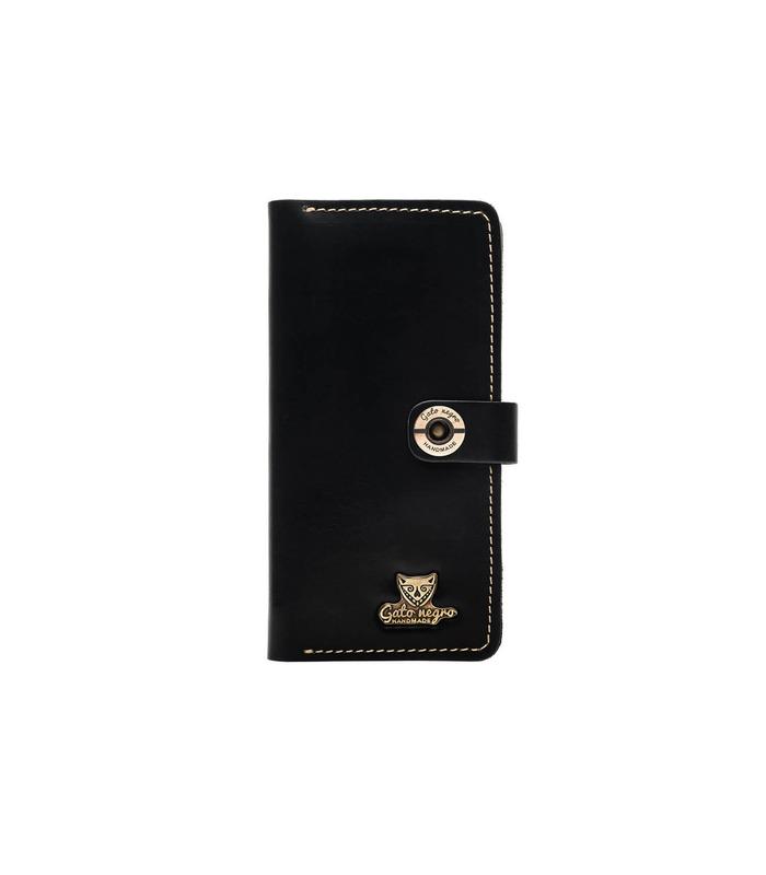 Купить кожаный портмоне GN Alfa One BL | Украинское производство, натуральная кожа