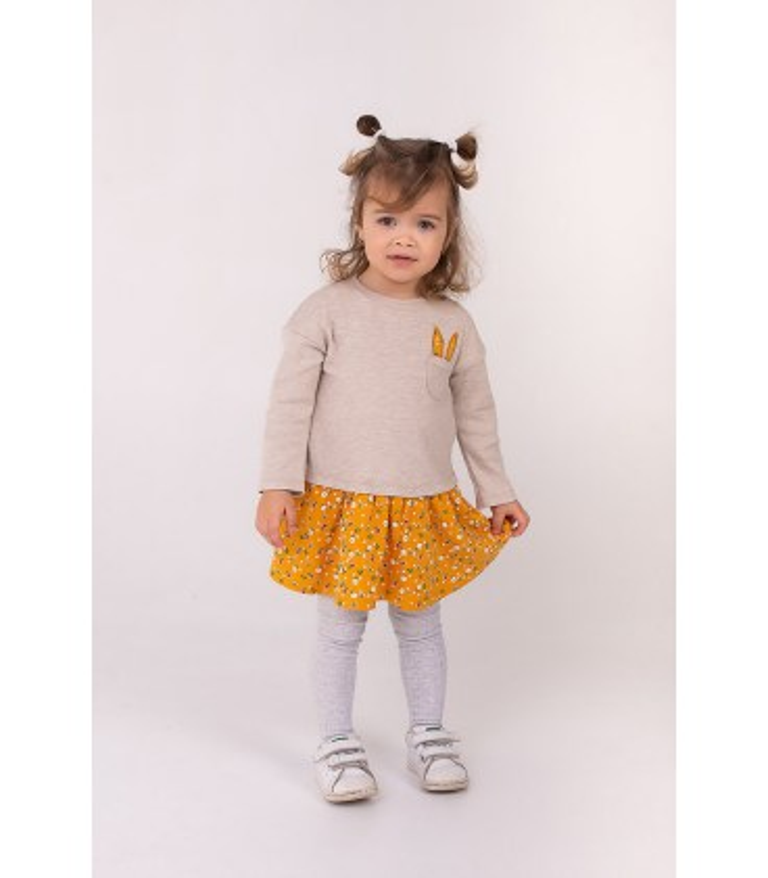Детское платье Ушки ПЛ292 BG