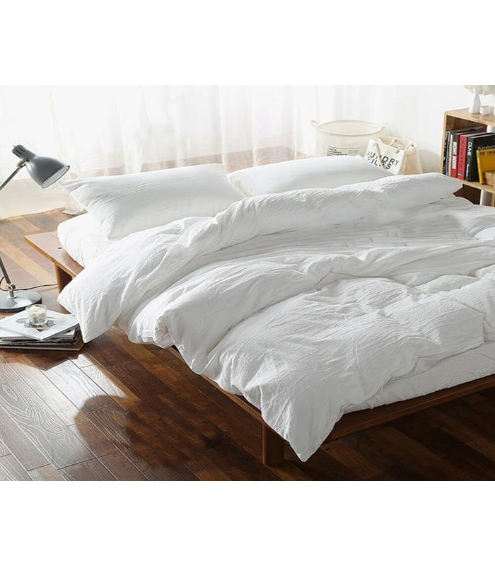 Комплект постельного белья Жемчуг ᗍ Лен ※ Украина, натуральная ткань